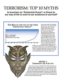 Top 10 Myths of Terrorism (page 1 of free booklet)