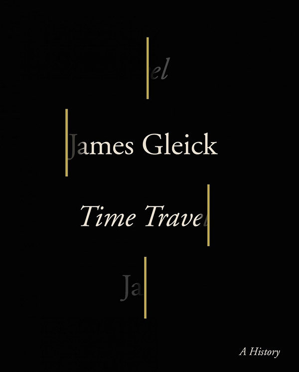 Time Travel: A History (book cover)