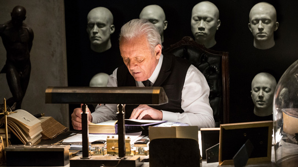 Dr. Robert Ford played by Anthony Hopkins (image courtesy of HBO)