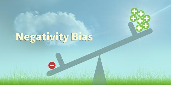Negativity bias (illustration copyright 2016 by William Bull)