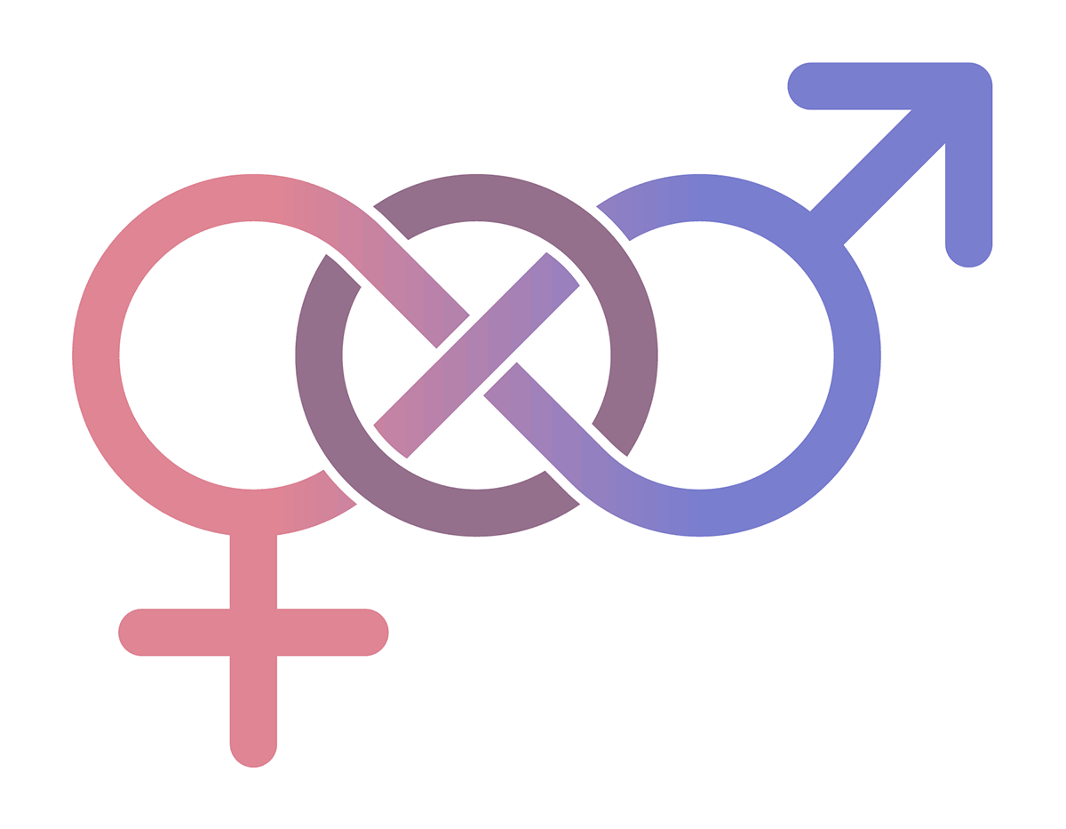 A sexual orientation symbol created by AnonMoos [Public domain], via Wikimedia Commons