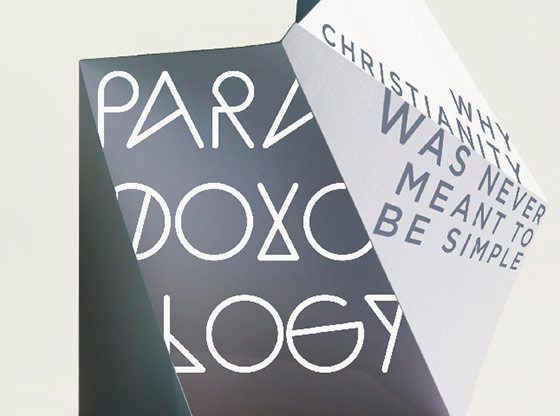 Paradoxology: Why Christianity Was Never Meant To Be Simple (detail of book cover)