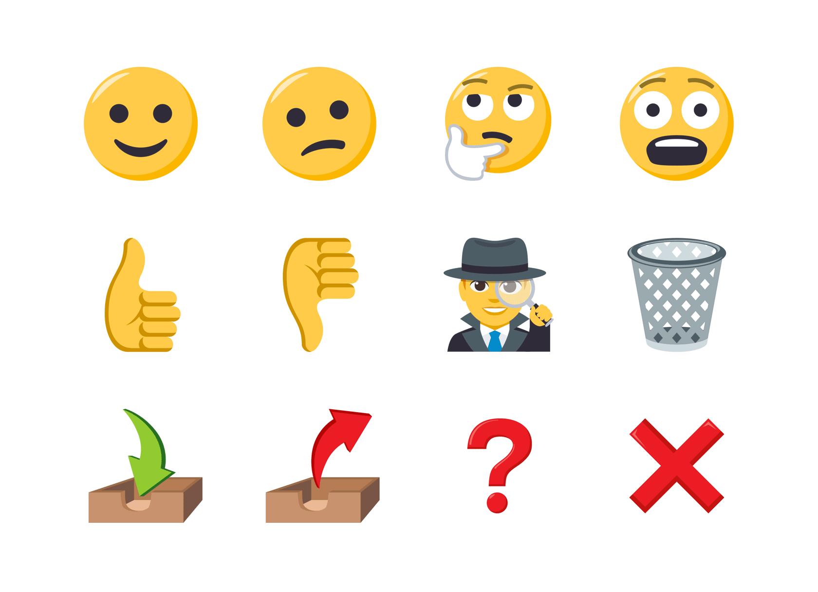 emojis by EmojiOne https://www.emojione.com/emoji/v3
