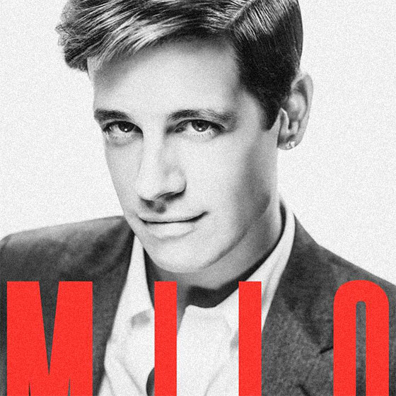 DANGEROUS, by Milo Yiannopoulos (book cover detail)