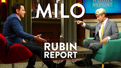 Milo on The Rubin Report
