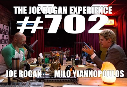 Milo on Joe Rogan Experience # 702