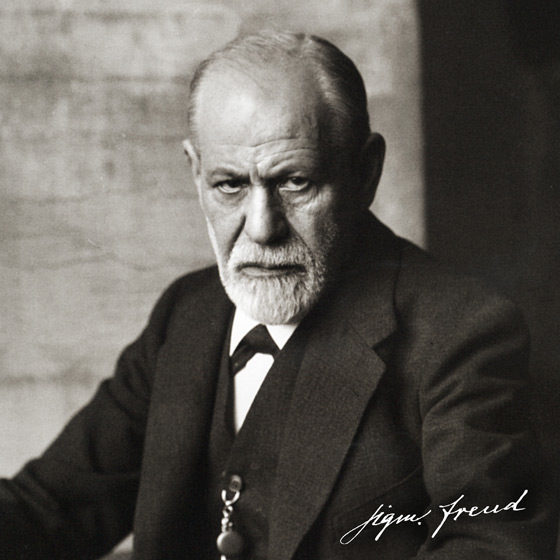 Sigmund Freud (1926). Photo by Ferdinand Schmutzer [Public domain], via Wikimedia Commons (https://commons.wikimedia.org/wiki/File%3ASigmund_Freud_1926.jpg)