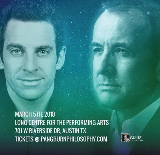 An Evening with Sam Harris and Michael Shermer