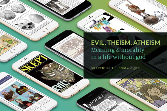 Skeptic Magazine on iPhone