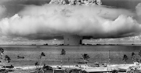 The Baker explosion, part of Operation Crossroads