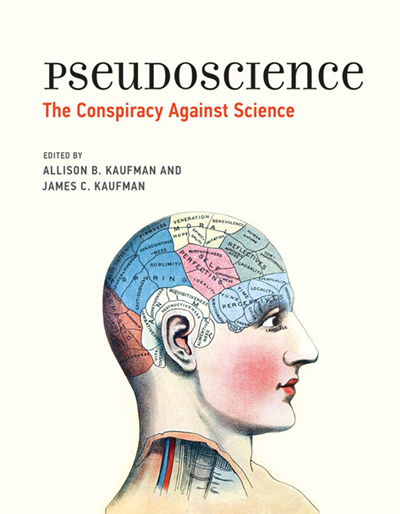 Pseudoscience: The Conspiracy Against Science (book cover)