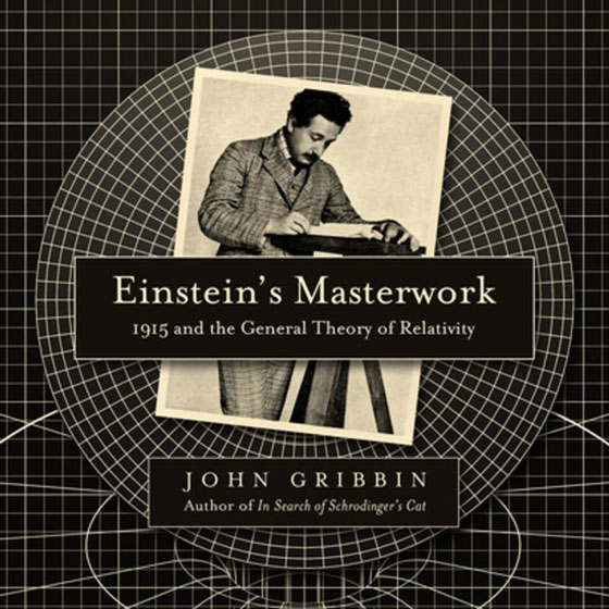 Einstein's Masterwork: 1915 and the General Theory of Relativity (book cover detail)