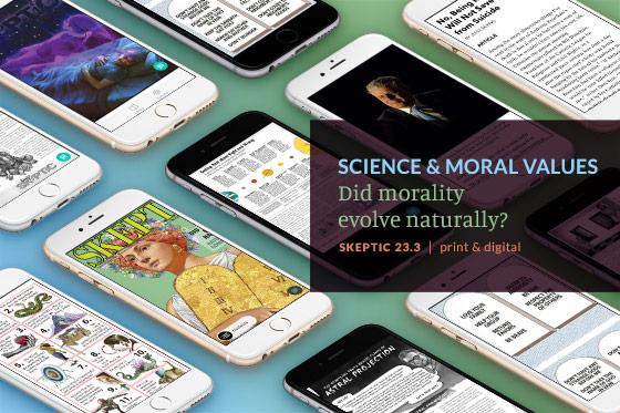 Skeptic Magazine on iPhone