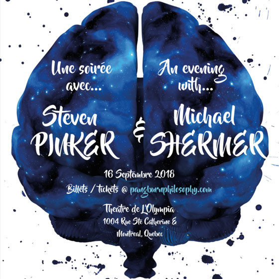Steven Pinker and Michael Shermer in Conversation
