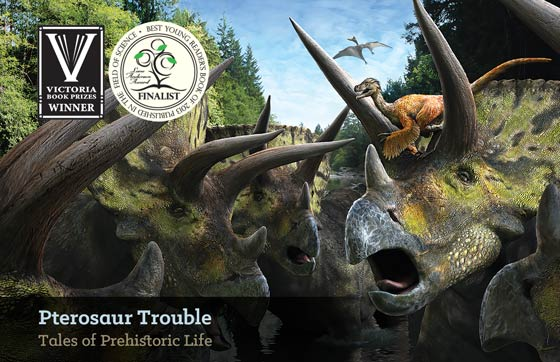 Save 25% on Daniel Loxton's Pterosaur Trouble