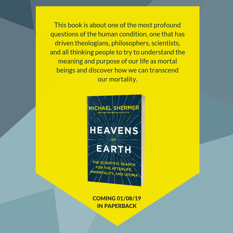 Pre-order the autographed paperback of Heavens on Earth