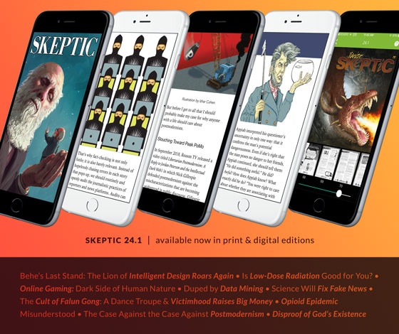 Buy Skeptic magazine issue 24.1 in print and digital editions
