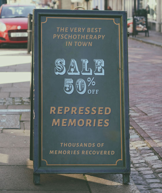 SALE 50% OFF Repressed Memories