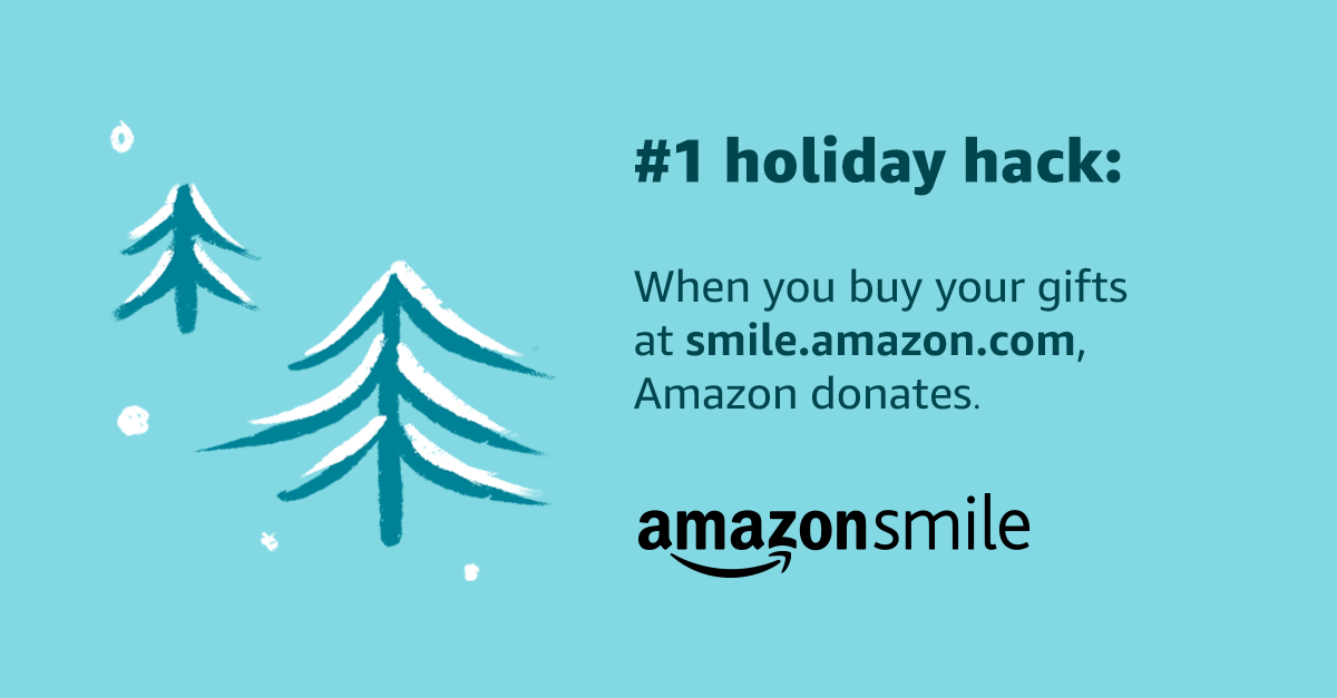 When you buy gifts at smile.amazon.com Amazon donates.