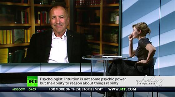 Shermer speaks with Sophie Shevardnadze on Russian TV