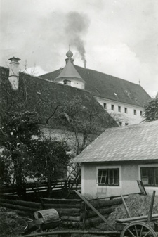 Hartheim Castle, 1940, a site of a T4 euthanasia killing center.