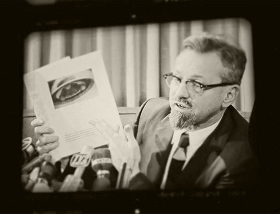 J. Allen Hynek in Unidentified: Inside America's UFO Investigation (2019). Source: https://www.imdb.com/name/nm0405251/mediaviewer/rm3492388609