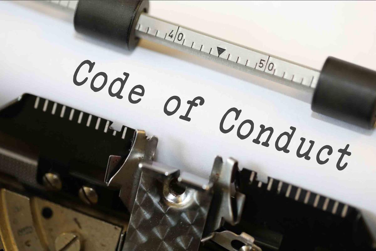 Code of Conduct by Nick Youngson CC BY-SA 3.0 ImageCreator