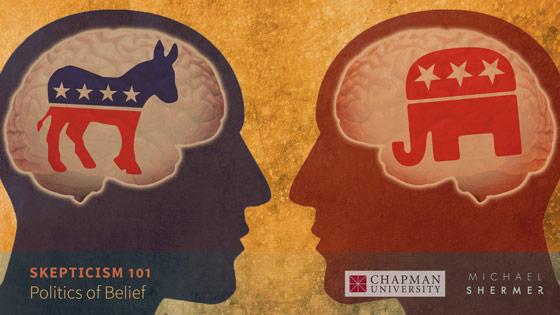Skepticism 101 -- Politics of Belief (Michael Shermer, Chapman University)