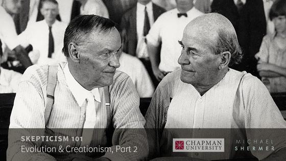 Skepticism 101 -- Evolution and Creationism, Part 2 (Michael Shermer, Chapman University)