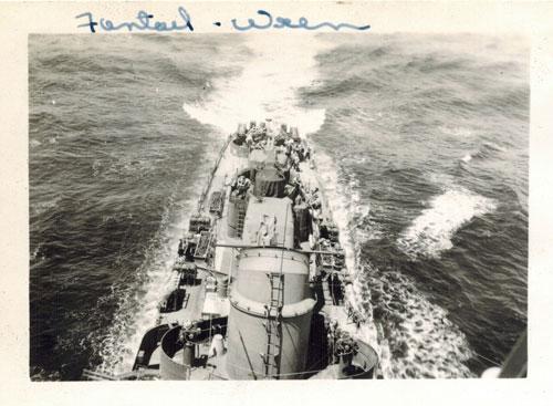 USS Wren fantail