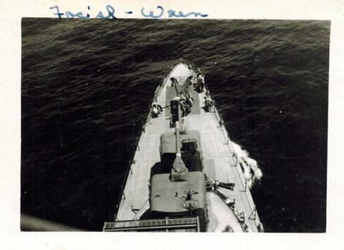 USS Wren front