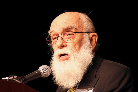 James Randi (photo by David Patton)