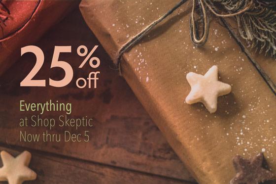 Save 25% on Everything, Now Thru Dec 5, 2020