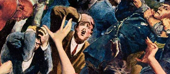 Outbreak (book cover detail)