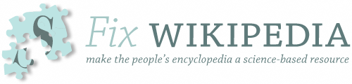 Fix Wikipedia: make the people's encyclopedia a science-based resource