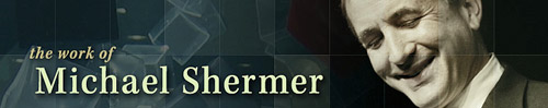 michaelshermer.com website banner