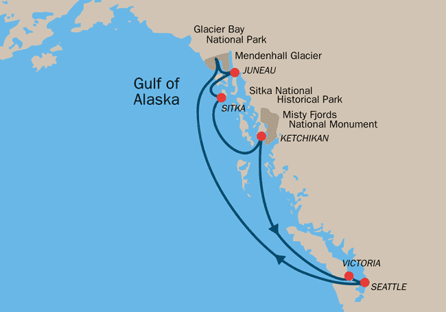 Image Result For Alaska Inside Passage Cruise Cruise Port Alaska Cruises