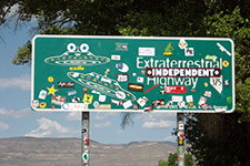 Extraterrestrial Highway (photo by Donald Prothero)