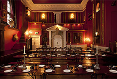 Lumley Castle Elizabethan Banquet Room