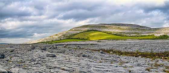 The Burren karst landscape