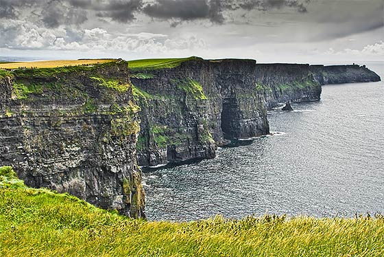 The Cliffs of Moher in western Ireland