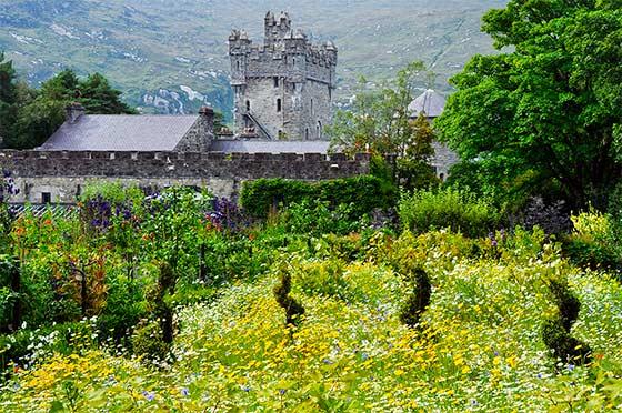 Gardens of Glenveagh Castle