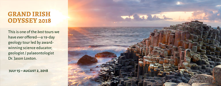 Join us for a 19-day tour of the Emerald Isle JULY 15-AUGUST 2, 2018