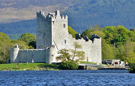 Ross Castle and the Lakes of Killarney