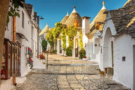 The trulli of Alberobello, Puglia, Italy