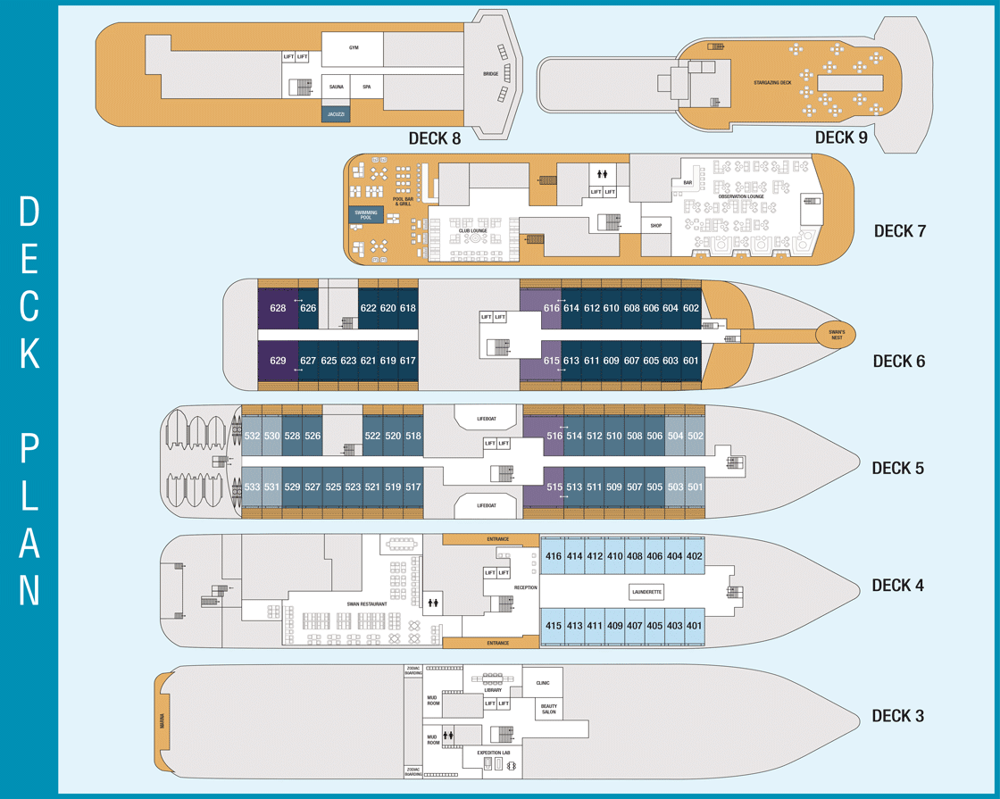 Minerva Deck Plan