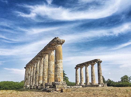 Tavole Palatine, Metapontum, Puglia, Italy