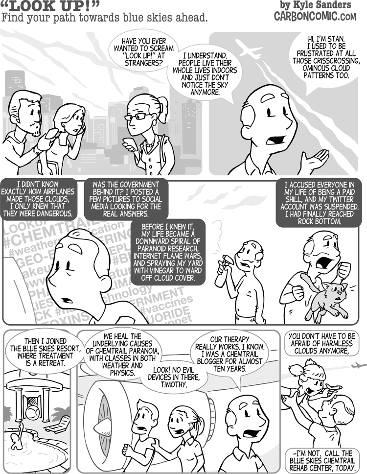 skeptic the magazine carbon comic