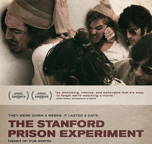 The Stanford Prison Experiment (movie poster detail)