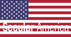 Secular American US Flag